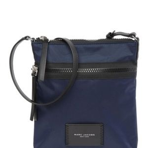 Marc Jacobs NS Indigo Nylon Crossbody Bag Purse